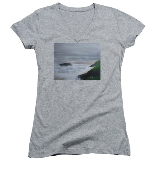 Emerald Isle Women's V-Neck T-Shirt