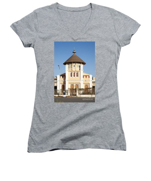 enda Mariam cathedral in asmara eritrea Women's V-Neck (Athletic Fit)