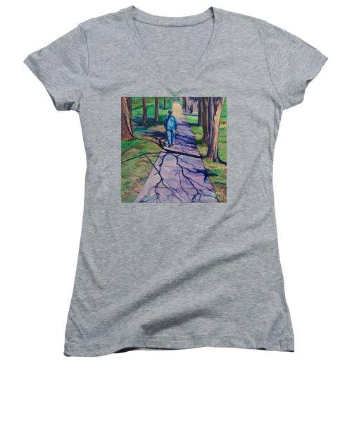 Entanglement On Highway 98' Women's V-Neck T-Shirt