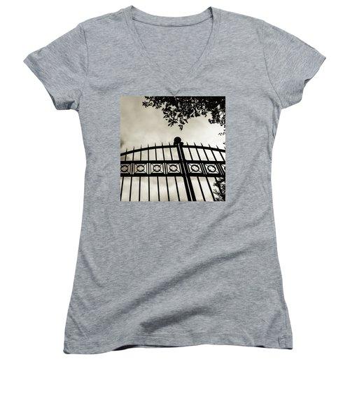 Entrances To Exits - Gates Women's V-Neck T-Shirt