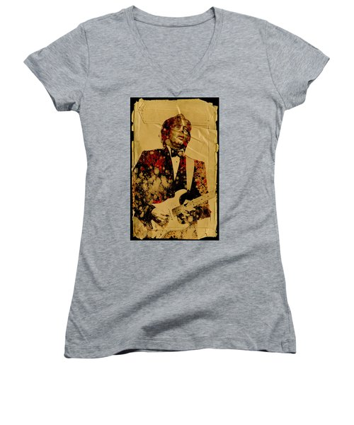 Eric Clapton 2 Women's V-Neck T-Shirt
