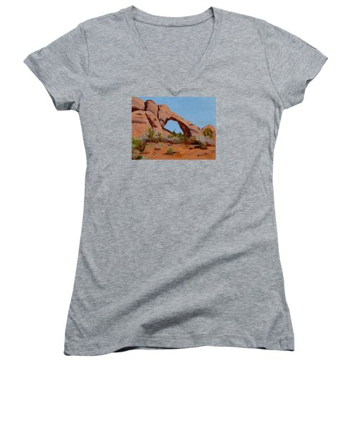 Erosion Women's V-Neck T-Shirt