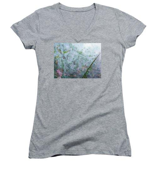 Escape Women's V-Neck T-Shirt (Junior Cut) by Brian Boyle