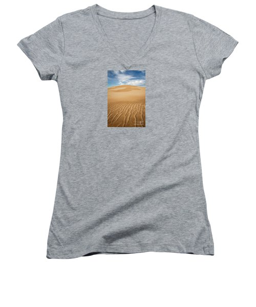 Eternity Women's V-Neck T-Shirt (Junior Cut) by Alice Cahill