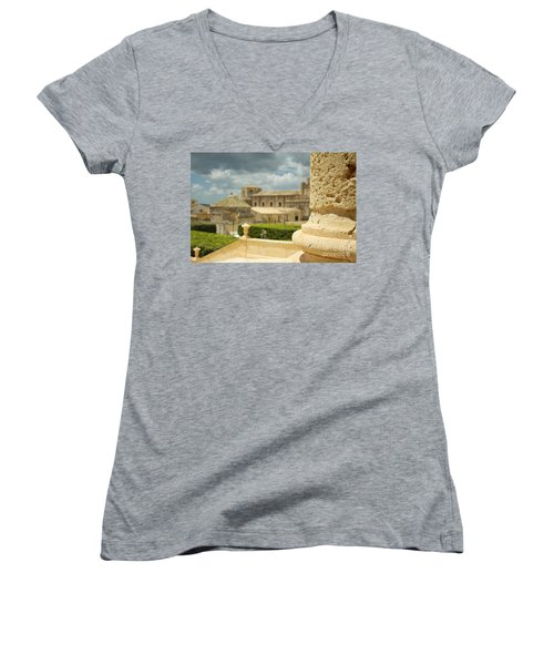 Even Out Of Focus There Is Beauty Women's V-Neck T-Shirt