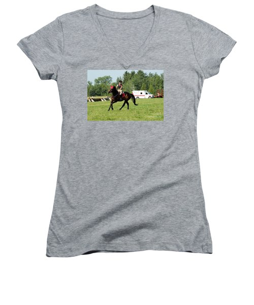 Eventing Fun Women's V-Neck