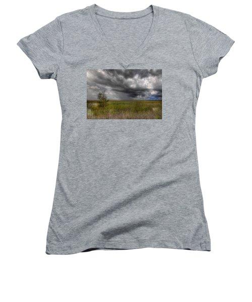 Everglades Storm Women's V-Neck