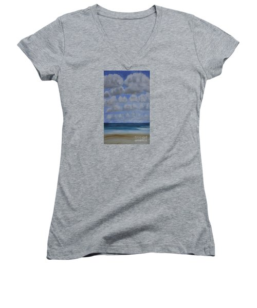 Everyday Is A New Horizon Women's V-Neck