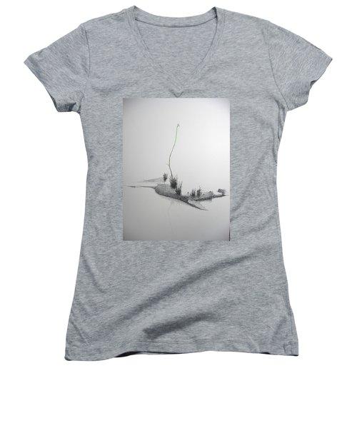 Evocation Women's V-Neck T-Shirt (Junior Cut)