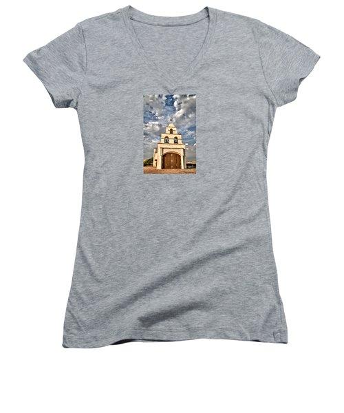 Exaltation Women's V-Neck T-Shirt (Junior Cut) by Alice Cahill