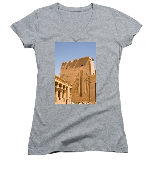 Exterior Wall Art Women's V-Neck (Athletic Fit)
