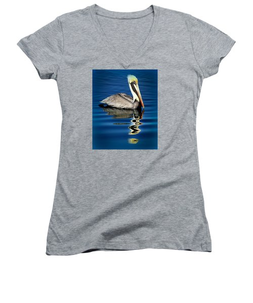 Eye Of Reflection Women's V-Neck T-Shirt