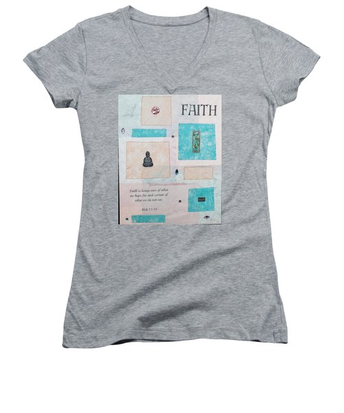 Faith Women's V-Neck T-Shirt