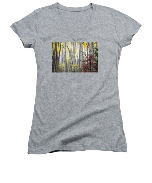Fall Women's V-Neck (Athletic Fit)