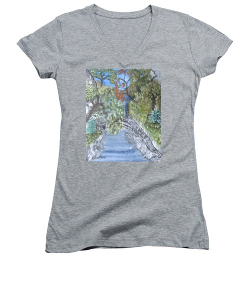 Far Off Place Women's V-Neck (Athletic Fit)