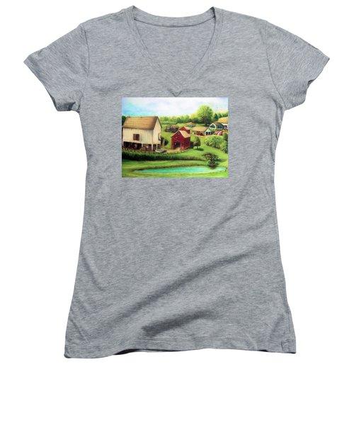 Farm Women's V-Neck T-Shirt