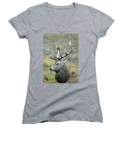 Stag Party The Series Father To Be. Women's V-Neck (Athletic Fit)
