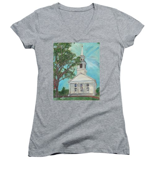 Federated Church Women's V-Neck T-Shirt