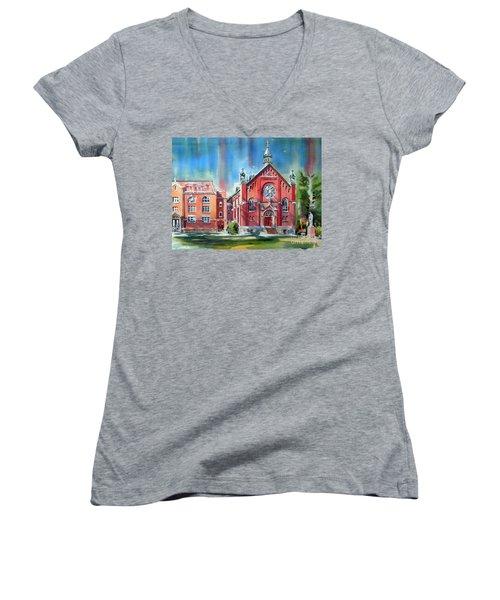 Feed The Birds IIi Women's V-Neck T-Shirt