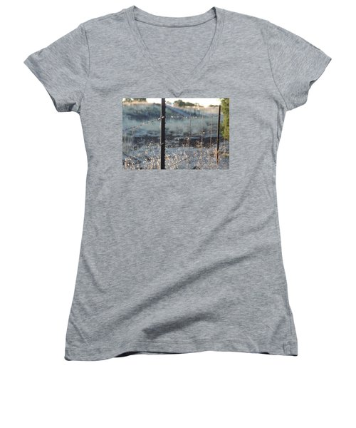 Fence Women's V-Neck T-Shirt