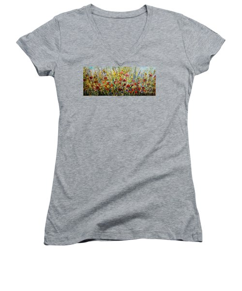 Fields Of Dreams Women's V-Neck (Athletic Fit)