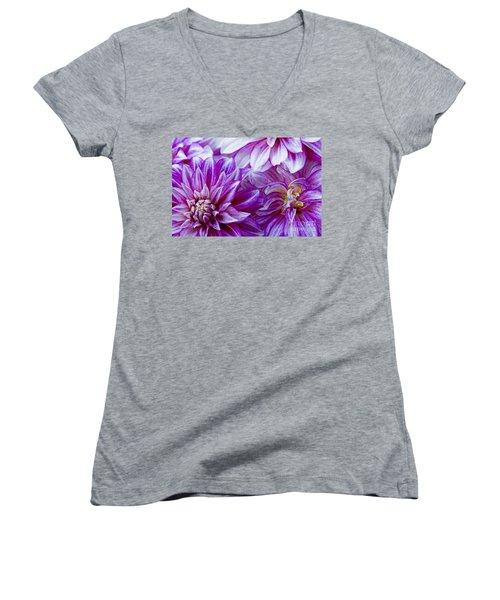 Filling The Frame Women's V-Neck T-Shirt (Junior Cut) by Nick  Boren