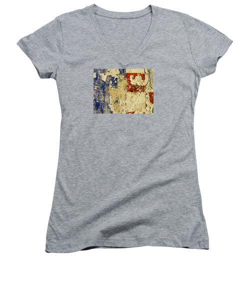 Film Homage Andrei Tarkovsky Andrei Rublev 1966 Wall Coolidge Arizona 2004 Women's V-Neck T-Shirt (Junior Cut) by David Lee Guss