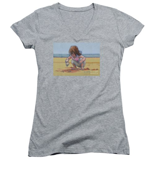 Finding A Shell Women's V-Neck (Athletic Fit)