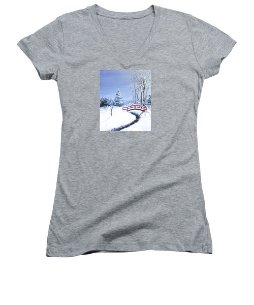Fire And Ice Women's V-Neck