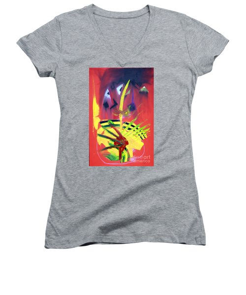 First Embrace Women's V-Neck (Athletic Fit)