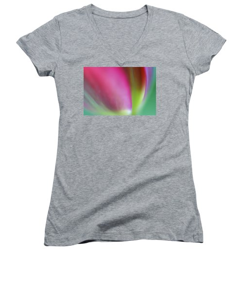 Flaming Tulip Women's V-Neck