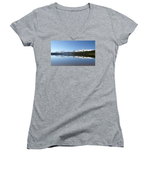 Flat Water Women's V-Neck T-Shirt