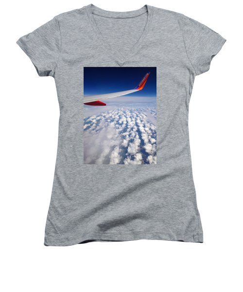 Flight Home Women's V-Neck T-Shirt