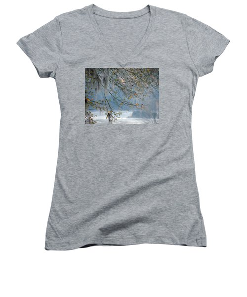 Flint River 29 Women's V-Neck T-Shirt