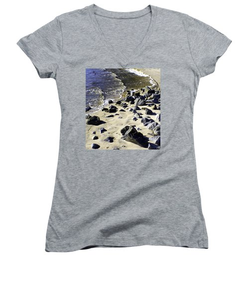 Florida Town Beach Women's V-Neck