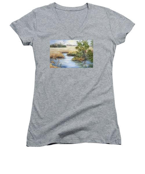 Florida Wilderness IIi Women's V-Neck T-Shirt
