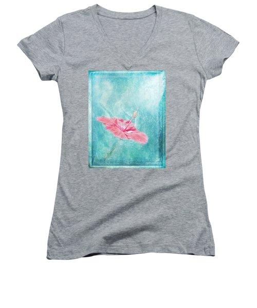 Flower Dancer Women's V-Neck T-Shirt