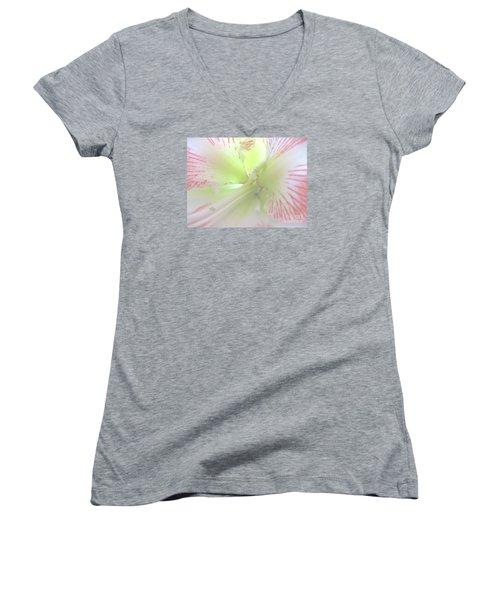 Flower Of Light Women's V-Neck (Athletic Fit)