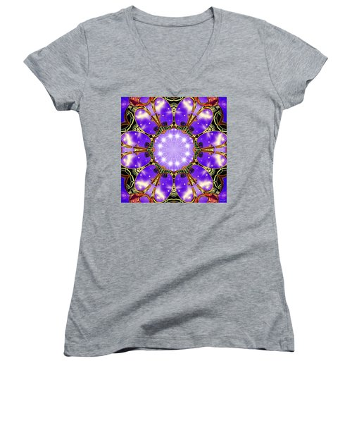 Flowergate Women's V-Neck