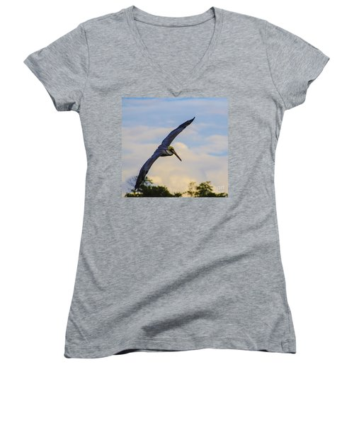 Fly Away Women's V-Neck (Athletic Fit)