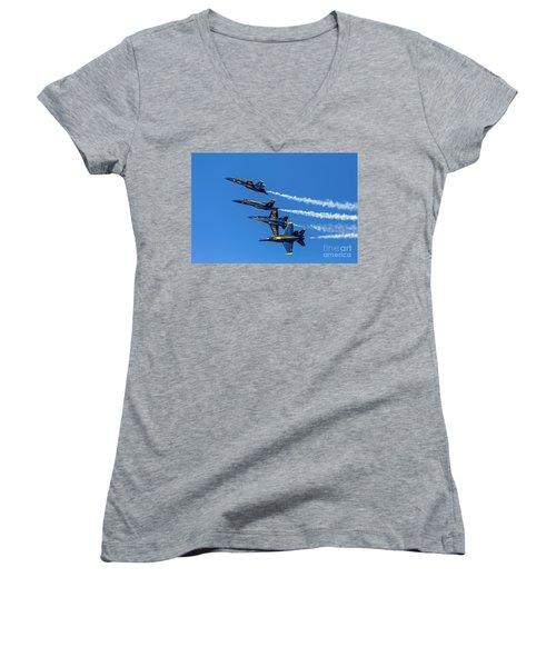 Flying Formation Women's V-Neck