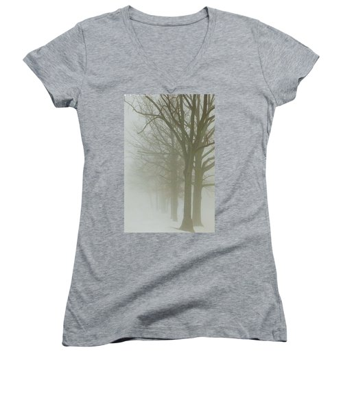 Fog Women's V-Neck