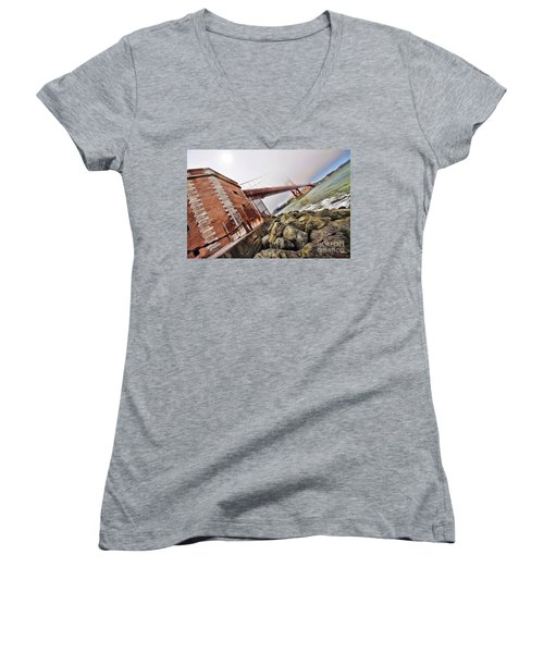 Foggy Gates Women's V-Neck T-Shirt