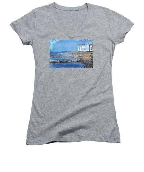 Folly Beach Women's V-Neck