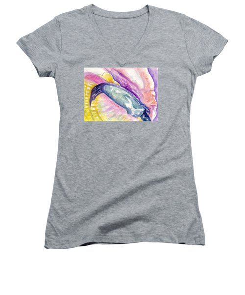Foot Of Conch Women's V-Neck