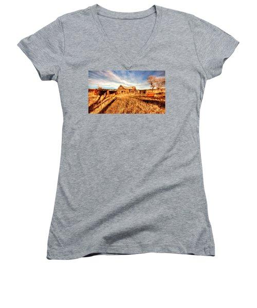 Forgotten Farm Women's V-Neck T-Shirt