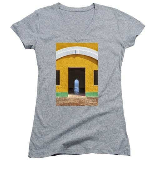 Fort Castillo San Felipe Del Morro Women's V-Neck