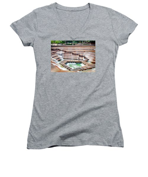Fort Worth Water Garden V7 Women's V-Neck