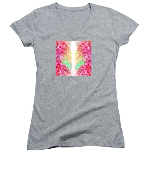 Fragrance Women's V-Neck T-Shirt