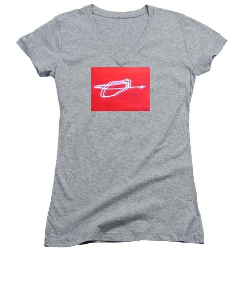 Free Bird Women's V-Neck T-Shirt